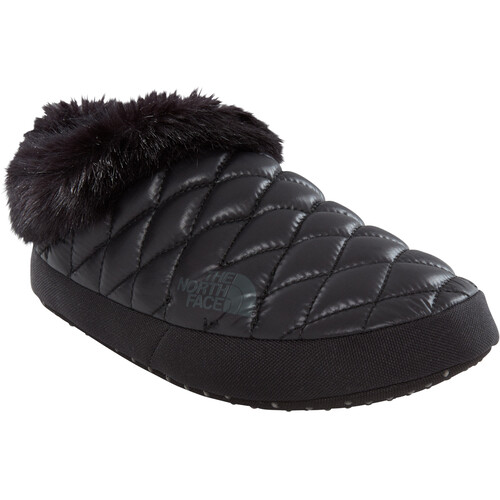 The North Face ThermoBall Tent Mule Faux Fur IV - Chaussons Femme - noir sur campz.fr !